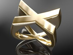 X-Ring US-SIZE9 (JP-SIZE#18) in 18k Gold