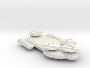 3788 Scale Worb Dreadnought (DN) MGL in White Natural Versatile Plastic