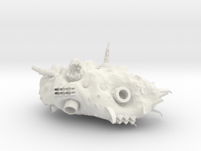 ! - Space Rok - Hulk Concept 2 in White Natural Versatile Plastic
