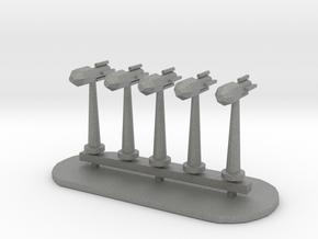 Rockets Sprue - Variant 3 in Gray Professional Plastic