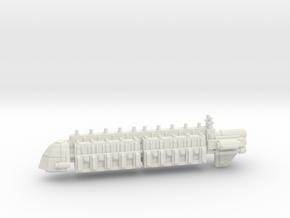 Large Merchant Transport Vessel  in White Natural Versatile Plastic