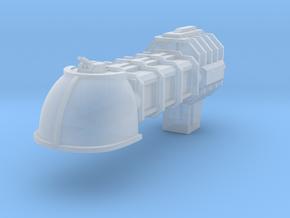 Merchant Civilian Shuttle Escort in Smooth Fine Detail Plastic