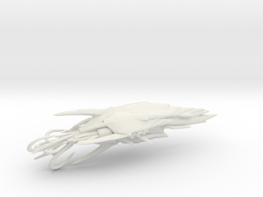 Actoid Hive Kraken - Concept A  in White Natural Versatile Plastic