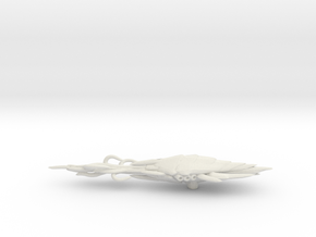 Actoid Tentacle Cruiser in White Natural Versatile Plastic