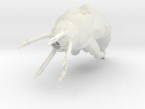 Slagoid Cruiser - Concept A  in White Natural Versatile Plastic