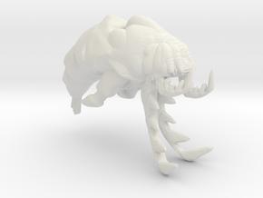 Slagoid Cruiser - Concept C in White Natural Versatile Plastic