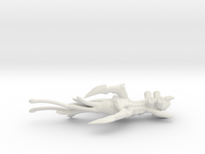 Sporic Escort - Concept C  in White Natural Versatile Plastic
