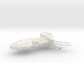 Sporic Hive Cruiser - Concept A  in White Natural Versatile Plastic
