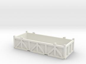 20 ft. offshore cargo basket - 1:50 in White Natural Versatile Plastic