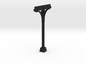 Newton Kansas Trainshed Support  in Black Natural Versatile Plastic