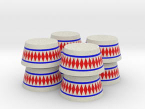 Circus Stand - Set of 8 - Zscale in Full Color Sandstone