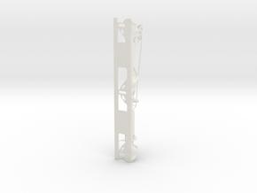 Bucket Seat Bracket Generative  in White Natural Versatile Plastic