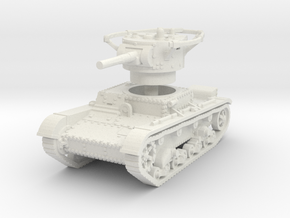 T 26 B Radio Tank 1/56 in White Natural Versatile Plastic