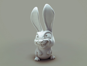 Bulk! The mad Rabbit in White Natural Versatile Plastic