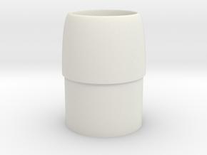 Intake Cone-BT-20 in White Natural Versatile Plastic