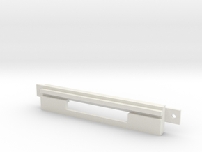 Amiga 4000D 3.5 Inch Bay Cover Small Compact Flash in White Natural Versatile Plastic