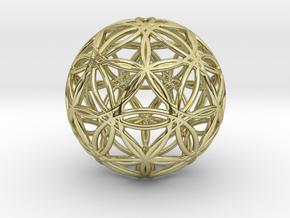 Excaliber 16D Eternal Flower in 18k Gold Plated Brass
