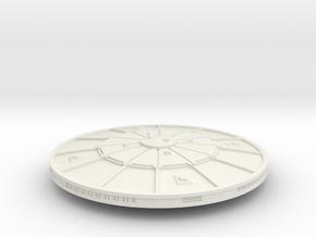 3125 Scale Sigvirion Invasion Cruiser MGL in White Natural Versatile Plastic