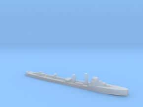 HMS Wessex 1:3000 WW2 naval destroyer in Smoothest Fine Detail Plastic