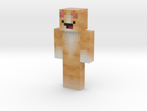 DerpKitty | Minecraft toy in Natural Full Color Sandstone