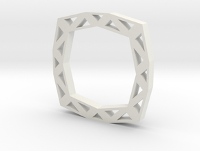 f110 grid ring gmtrx in White Natural Versatile Plastic