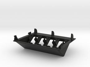 4 TSP Garage Door Panel in Black Natural Versatile Plastic