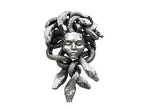 Medusa Pendant in Polished Nickel Steel