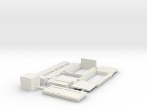 Fortunabude_Teil2 in White Natural Versatile Plastic