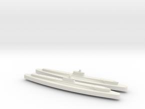 Atropo 1/1800 x2 in White Natural Versatile Plastic