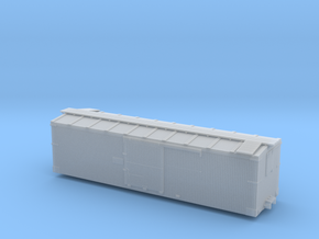 D&RGW 30ft Box Car, Body, Hon3 in Smooth Fine Detail Plastic
