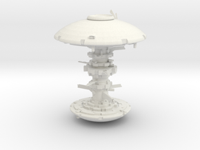 ! - Tau Space Station in White Natural Versatile Plastic