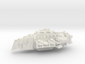 ! - Terror Kruiser - Concept B  in White Natural Versatile Plastic