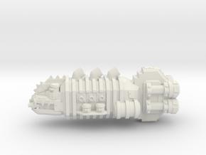 ! - Lite Kruiser - Concept B  in White Natural Versatile Plastic