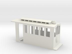 Tender Steam Dummy for N-Drive W_B 8.5mm_2spke in White Natural Versatile Plastic: 1:76 - OO