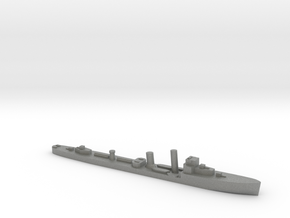 HMS Wessex 1:1800 WW2 naval destroyer in Gray PA12