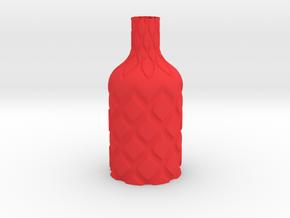 Vase-14 in Red Processed Versatile Plastic