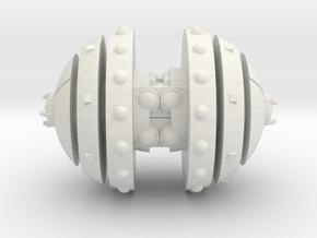 Kroot Warsphere in White Natural Versatile Plastic