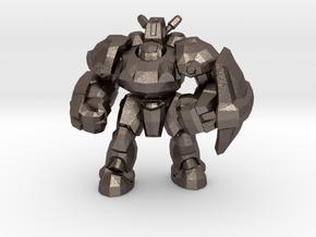 Starcraft 1/60 Terran Marauder Armored Soldier in Polished Bronzed-Silver Steel