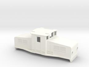 Swedish SJ accumulator locomotive type Öb - H0-sca in White Processed Versatile Plastic
