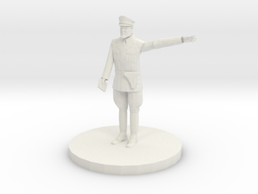 officer or gentleman in White Natural Versatile Plastic
