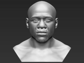 Floyd Mayweather bust in White Natural Versatile Plastic