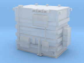 'N Scale' - Transformer for Train in Smooth Fine Detail Plastic