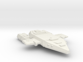 3788 Scale Orion Medium Raider CVN in White Natural Versatile Plastic