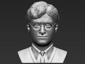 Harry Potter bust in White Natural Versatile Plastic