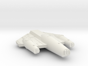 3788 Scale ISC Battleship (BB) SRZ in White Natural Versatile Plastic