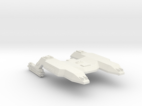 3125 Scale LDR Java Tiger Heavy Command Cruiser in White Natural Versatile Plastic