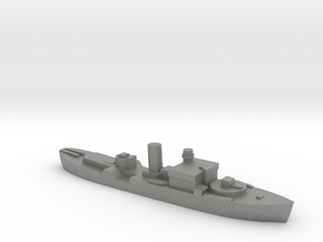 HMS Begonia corvette 1:3000 WW2 in Gray PA12