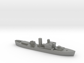 HMS Begonia corvette 1:1800 WW2 in Gray PA12