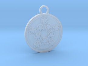 Ten of Pentacles in Smooth Fine Detail Plastic
