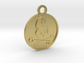 The Hierophant in Natural Brass